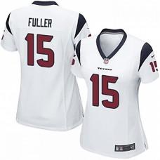 Women's Houston Texans #15 Will Fuller White Game Jersey