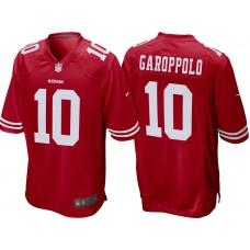 Youth San Francisco 49ers #10 Jimmy Garoppolo Scarlet Game Jersey