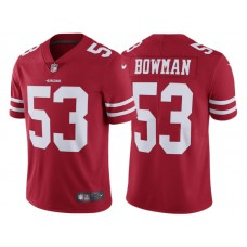 Youth San Francisco 49ers #53 NaVorro Bowman Scarlet Vapor Untouchable Limited Jersey