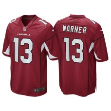 Youth Arizona Cardinals #13 Kurt Warner Cardinal Retired Game Jersey