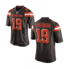 Youth Cleveland Browns #19 Corey Coleman Brown Game Jersey