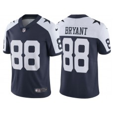 Youth 2017 Dallas Cowboys #88 Dez Bryant Navy Throwback Vapor Untouchable Limited Player Jersey