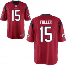Youth Houston Texans #15 Will Fuller Red Game Jersey
