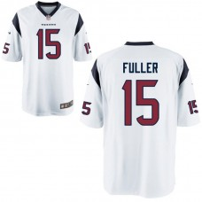 Youth Houston Texans #15 Will Fuller White Game Jersey