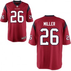 Youth Houston Texans #26 Lamar Miller Red Game Jersey