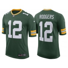 Youth Green Bay Packers #12 Aaron Rodgers Green Classic Limited Player Jersey