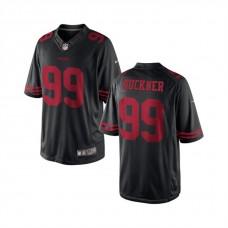 Youth San Francisco 49ers #99 Deforest Buckner Black Game Jersey