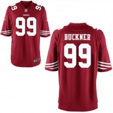 Youth San Francisco 49ers #99 Deforest Buckner Scarlet Game Jersey