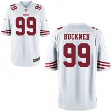 Youth San Francisco 49ers #99 Deforest Buckner White Game Jersey