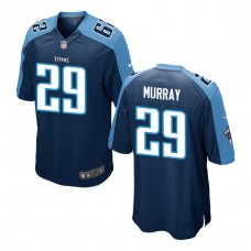 Youth Tennessee Titans #29 Demarco Murray Navy Game Jersey