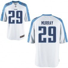 Youth Tennessee Titans #29 Demarco Murray White Game Jersey