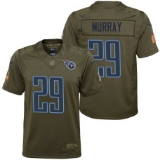 Youth Tennessee Titans DeMarco Murray Olive 2017 Salute to Service Game Jersey