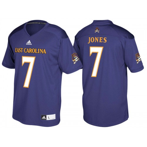 Zay Jones #7 East Carolina Pirates Purple Alumni Player College Football Jersey
